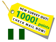 New survey available; check your mail!